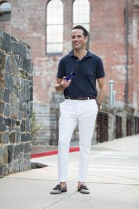 navy-blue-polo-shirt-white-cotton-pants-simple-casual-mens-summer-outfit-idea-7